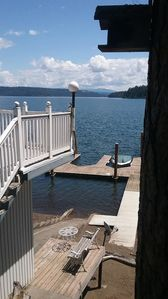 Photo for Sleeps 8. Location, Location, Location!  Right on the water!