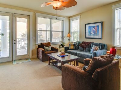 Photo for Large Pointe West oceanview condo with shared pool and prime location!