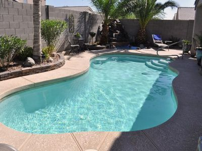 Photo for Centrally located for sports fans, private pool