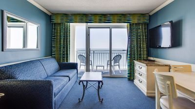 Photo for Suite for 6 with Ocean View Balcony! | Pool, Hot Tub + Gym Access