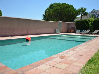 Photo for Villa 5 minutes from the beach of Roche with garden and pool ideal for families