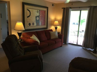Photo for Pointe Royale -  WALK-IN LEVEL, 2 NEW  RECLINERS, 2 KING BEDS, CLOSE TO POOLS !