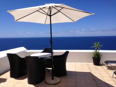 Photo for Casa del Mar with large sun terrace, facing the sea, luxur. upscale amenities