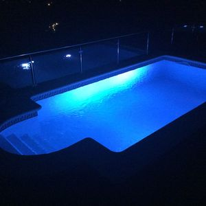 Pool by night 2