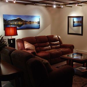 Unwind and Relax in One of the Comfortable Living Areas