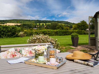 Photo for MULBERRY STEADS - stylish, spacious cottage for two, between Kelso and Jedburgh