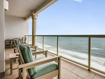 Photo for Sensational Ocean Views – Beach Front Condo w/Indoor & Outdoor Heated Pools