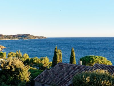Photo for Large Villa with breathtaking view diving view on the Sea and the Golden Islands