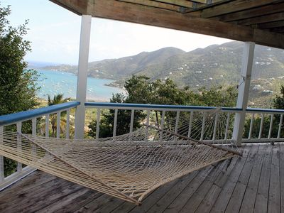 Photo for Deluxe 3 BR Mountainside Retreat with Awesome Views of Coral Bay and the Caribbean!
