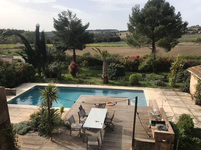Photo for Large house with views, pool, garden