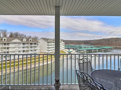 Photo for NEW! Condo w/Views & Balcony on Lake of the Ozarks
