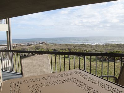 Photo for A Charming Oceanfront Condo - 1/2 Mile North of St. Augustine