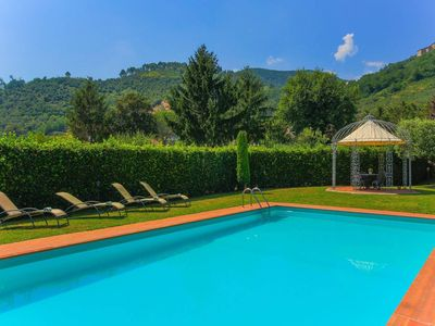 Photo for Typical Tuscan country house, pool and garden free wifi