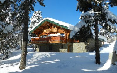 Photo for FONT ROMEU / PYRENEES2000 CHALET CLASS 4 **** STARS ON 1200 m2 MAGNIFICENT VIEW