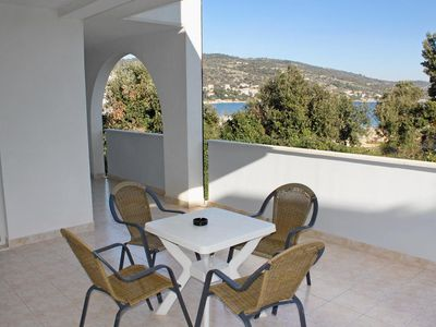 Photo for Two bedroom apartment with terrace and sea view Sevid, Trogir (A-6024-f)