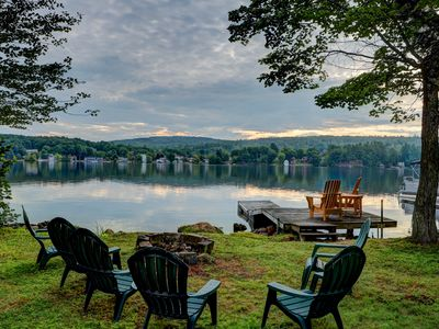 Photo for Long Lake Cottage! Private Dock, Boat Tie Up, Walk-in Access, Kayaks