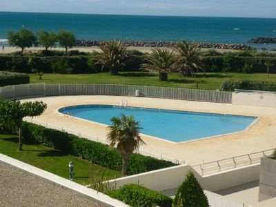Photo for Beautiful apartment for 6 people with pool, WIFI, TV and parking