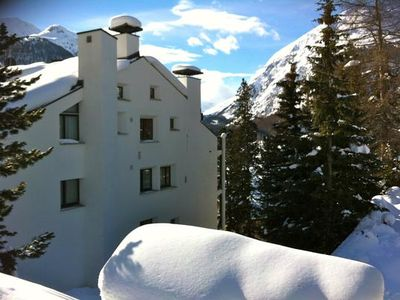 Photo for Holiday apartment Pontresina for 2 - 4 persons with 2 bedrooms - Holiday apartment in one or multi-f