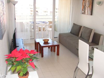 Photo for Antibes Juan Les Pins: Beautiful Apartment in Sea Front Residence with Pool