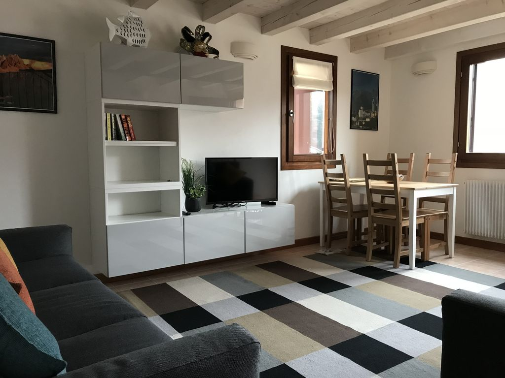 Riverside House In Belluno,near Venice And In The Foothills Of The Dolomites