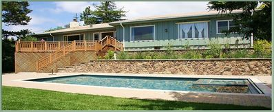 Photo for Charming Vacation Rental with Fabulous Views, a Pool and More!