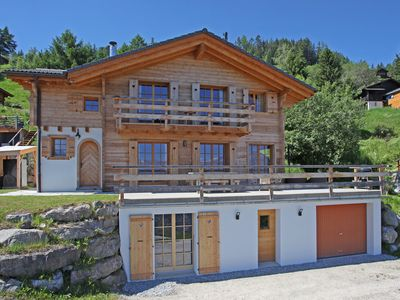 Photo for Delightful ski chalet, or summer mountain holidays for 11