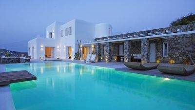 Photo for Villa Coriana Mykonos Private Sunset Pool 5br upto 11guests