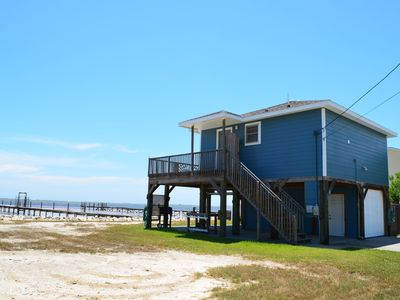 Photo for Laguna Madre Waterfront Cabin 1BR/1BA