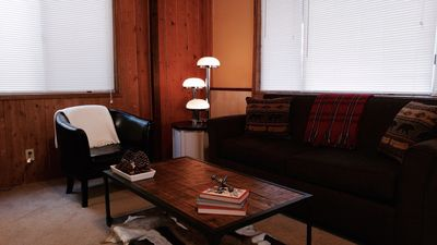 Photo for Sugarstar Cabin is a relaxing Big Bear retreat with a rustic, retro vibe