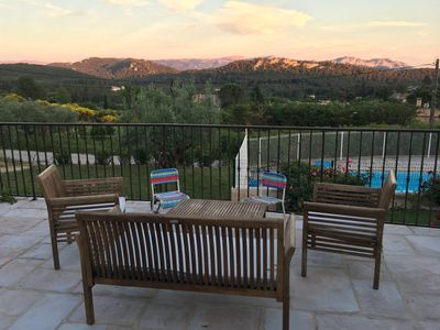 Photo for Villa with pool, CALM, between Cassis and Aix en Provence
