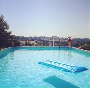Photo for Appartement 7 persons,garden,wifi,Rome