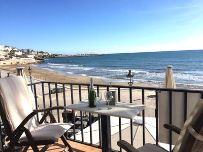 Photo for BEACH FRONT TOWN CENTRE - Apartment Alegria (Happy)