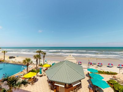 Photo for Inviting ocean front condo w/ocean views, shared pool & hot tub and more!