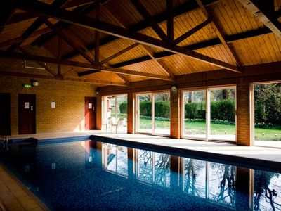 Photo for Self-catered cottage with pool on site of Country House.