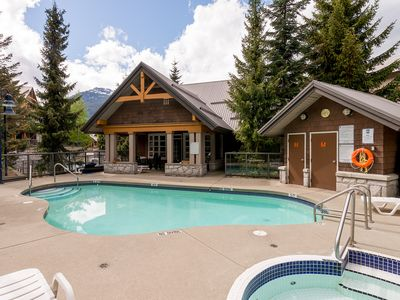 Photo for 2 Bedroom Village Townhome /W Private Hot Tub