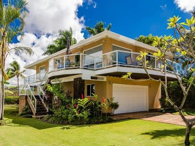 Photo for Best Rate Upgraded 4 Bedroom Luxury Poipu Home -  Baby Beach