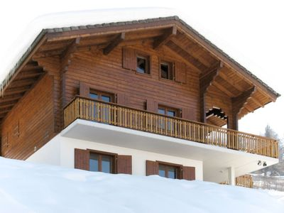 Photo for Vacation home Chalet Les Fontannets (VEZ132) in Veysonnaz - 10 persons, 5 bedrooms