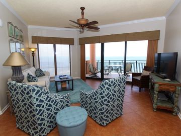 Seachase 1503W- Gulf Front Views from Terrace and Luxurious Interior!