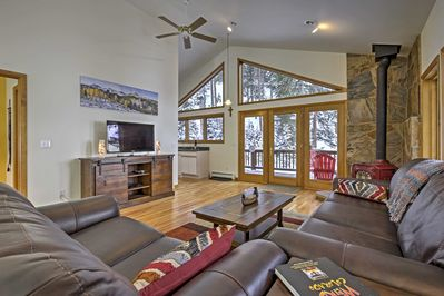 Sneak away for a secluded retreat at this Dumont vacation rental house.