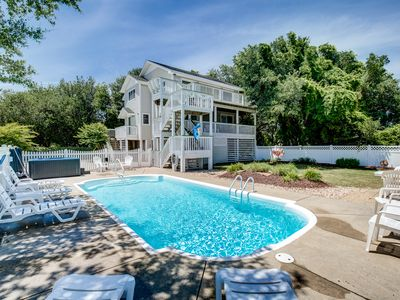 Photo for Island Cottage | 1575 ft from the Beach | Private Pool, Hot Tub