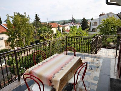 Photo for One bedroom apartment with terrace Malinska, Krk (A-5284-b)