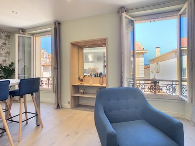 Photo for Sublime 3 rooms renovated, Croisette, Congress, Rue d'Antibes