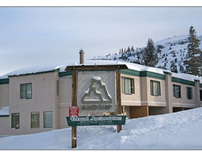 Photo for Walk to lifts-ski to front door on pow days! Park your car and forget it!