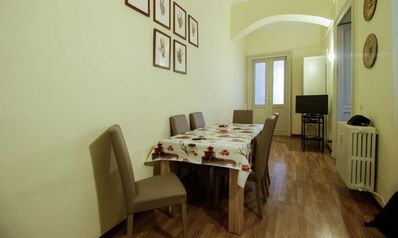 Photo for 3-bedroom apartment behind Porta Nuova