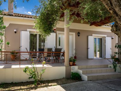 Photo for Villa Stella, 2bedrooms, WiFi, near the sea, a / c, quiet place but central.
