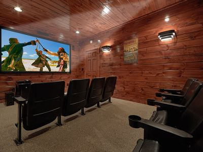 Photo for Private Home Theater Room - Mountain Views - Arts and Crafts Community!