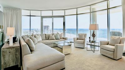 Photo for Modern coastal elegance at luxurious Turquoise Place! Unmatchable views! 4/4.5