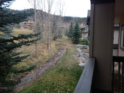 Photo for Steamboat Springs Condo on Village Drive, enjoy biking, hiking, river fun!