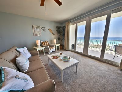 Photo for LAKETOWN WHARF 1BR plus bunks with breathtaking view of the GULF!!
