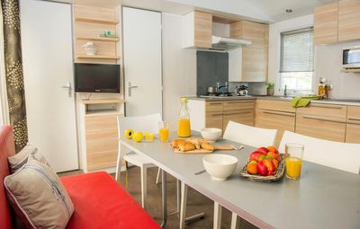 Photo for Camping Odalys Le Castellas - Mobile Home 4 Rooms 6 People